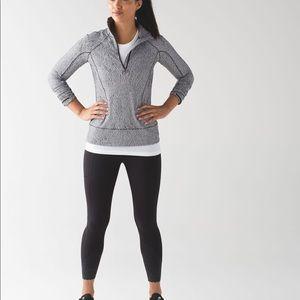 Lululemon rush hour 1/2 zip sweater size 2